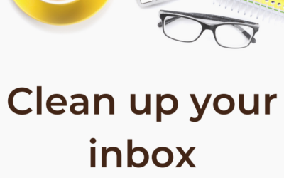 Better email management – MUST DO Organizing and cleaning email inbox before hiring a VA